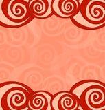 Поздравительная открытка с розами. Стоковое Изображение