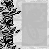 Поздравительная открытка с шнурком Стоковые Фотографии RF