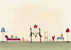 Поздравительная открытка Стоковые Изображения RF