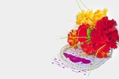 Поздравительная открытка Стоковая Фотография RF