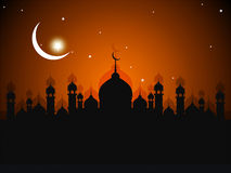 Поздравительная открытка Ramadhan Стоковое Фото