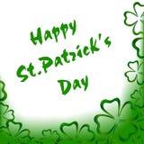 Поздравительная открытка ` s St. Patrick Стоковые Фото