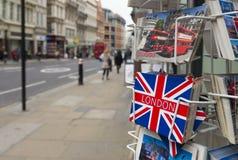 Поздравительные открытки Лондона Стоковое Изображение