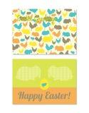 Поздравительные открытки пасхи Стоковая Фотография RF