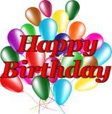 Поздравительные открытки с днем рождения Стоковое Изображение