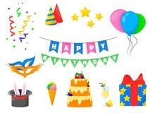поздравительые открытки ко дню рождения создают приглашения изображений приветствию счастливые моя подобная портфолио партии пожа Иллюстрация штока