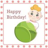 Поздравления на рождении вашего младенца Стоковые Изображения