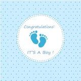 Поздравления свои мальчик Стоковые Изображения RF