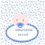 Поздравления свои мальчик Стоковое Изображение RF