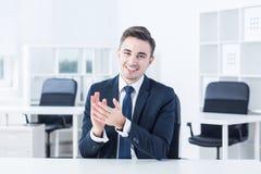 Поздравлять работника Стоковое Изображение RF