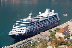 Поиски Azamara туристического судна стоковая фотография rf