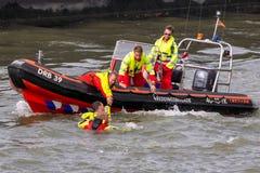 Поиск и спасательная лодка стоковые фото