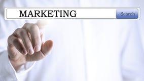 Поиск маркетинга дела Стоковое Изображение RF