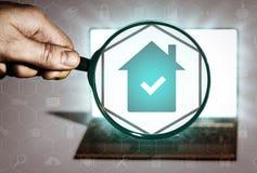 Поиск недвижимости, приобретение, продажа, рента, обслуживания риэлтора бесплатная иллюстрация