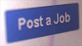 ПОИСК РАБОТЫ ОНЛАЙН - вкосую работодатель ECU вывешивает работу онлайн видеоматериал