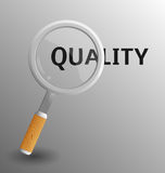 Поиск для качества Стоковые Изображения RF
