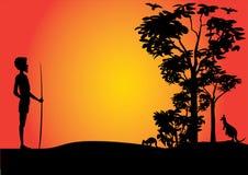 Поистине австралийская taropical сцена стоковое фото