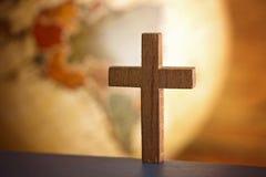 Пойдите в полностью мир и скажите Евангелие к всему творению стоковая фотография rf