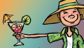 Пойдите на иллюстрацию каникул бесплатная иллюстрация