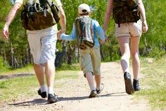 пойдите hiking Стоковое Изображение RF