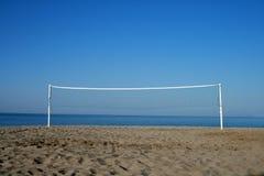 поймайте сетью волейбол стоковая фотография