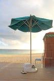 Пойденный не поплавать на пляже никакие позволенные ботинки Стоковая Фотография