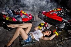 Пойдите-kart Стоковые Фотографии RF