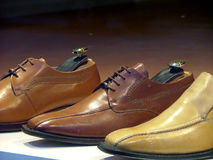 покажите ботинки стоковое изображение