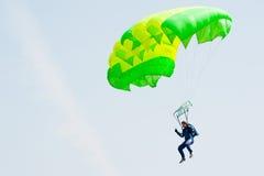 Покажите программу парашютиста Стоковое Фото