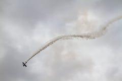 Покажите самолет турецкой военновоздушной силы Стоковое Изображение