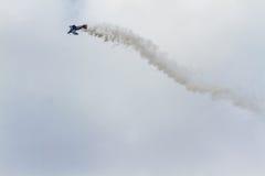 Покажите самолет турецкой военновоздушной силы Стоковое фото RF