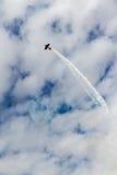 Покажите самолет турецкой военновоздушной силы Стоковое Фото