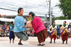 Покажите танец от Камбоджи стоковая фотография