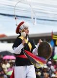 Покажите танец от Южной Кореи стоковое изображение