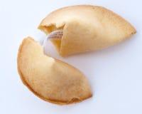 показанная удача печенья Стоковое Фото