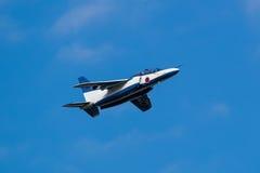 Показательные полеты голубого импульса Стоковое Изображение