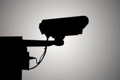 Показатель видео камеры силуэта. Стоковое Изображение