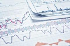 Показывать бизнес-отчет Стоковая Фотография RF