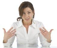 показывать возмужалую женщину себя портрета стоковые фотографии rf