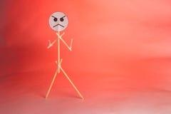 Показывать гнев Стоковое Фото