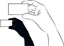 Показывать карточку Стоковое фото RF
