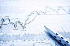 Показывать концепцию бизнес-отчета Стоковые Фотографии RF