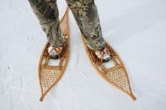 Показывать мои ботинки зимы стоковые изображения rf