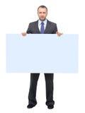 Показ бизнесмена Стоковые Изображения