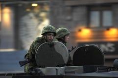 Показ оружия сражения Стоковые Фотографии RF