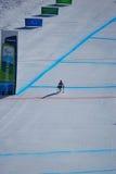покатое paralympic катание на лыжах стоковая фотография