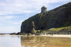 Покатый пляж, Северная Ирландия Стоковая Фотография RF