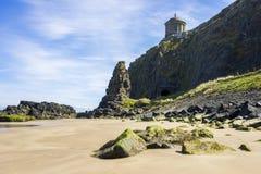 Покатый пляж, Северная Ирландия Стоковые Изображения RF