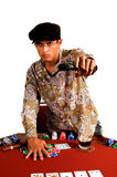 покер гангстера стоковая фотография rf