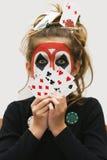 покер девушки Стоковые Фото